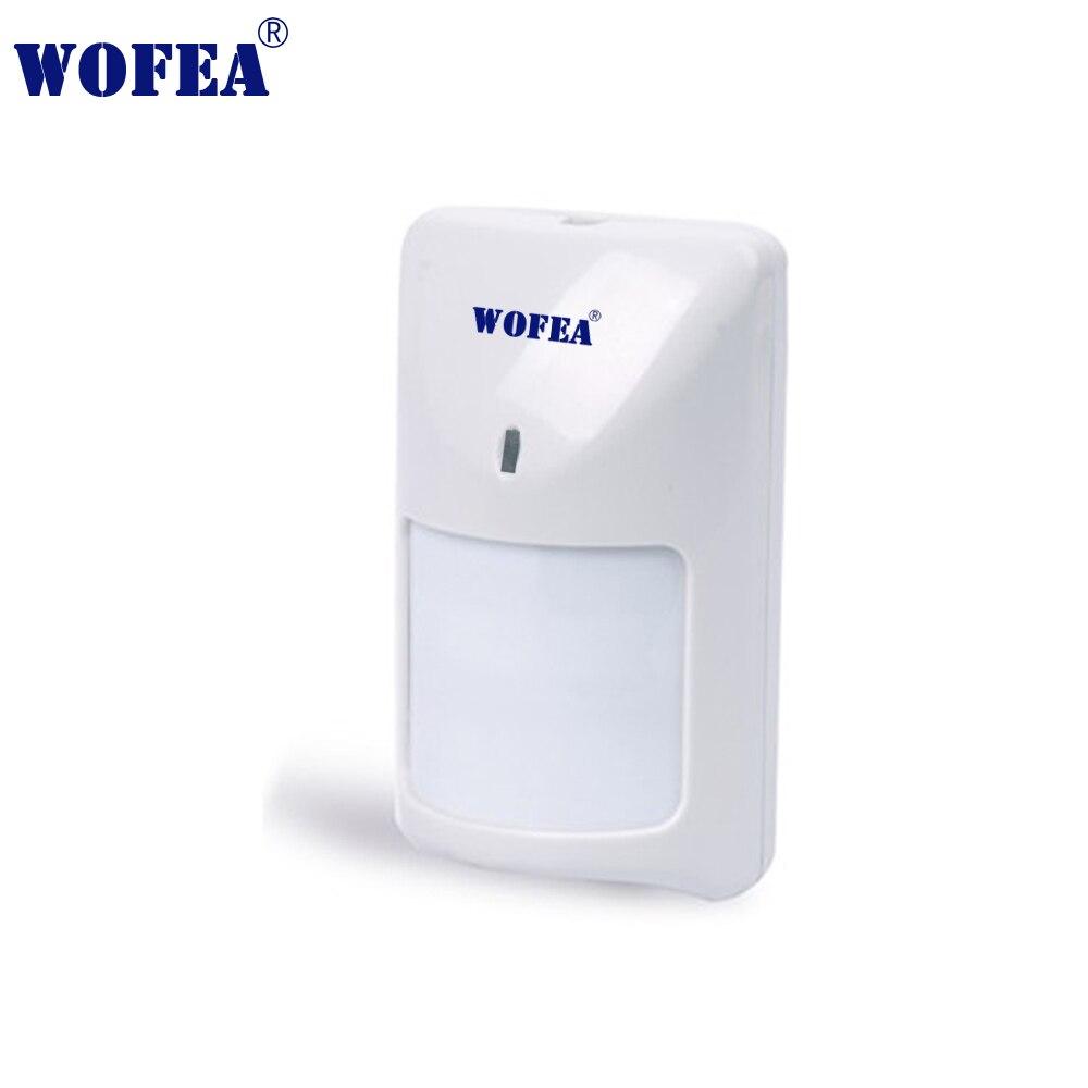 Wofea motion Detector tipo Wired PIR Sensor switch detector infravermelho com NF saída 12V
