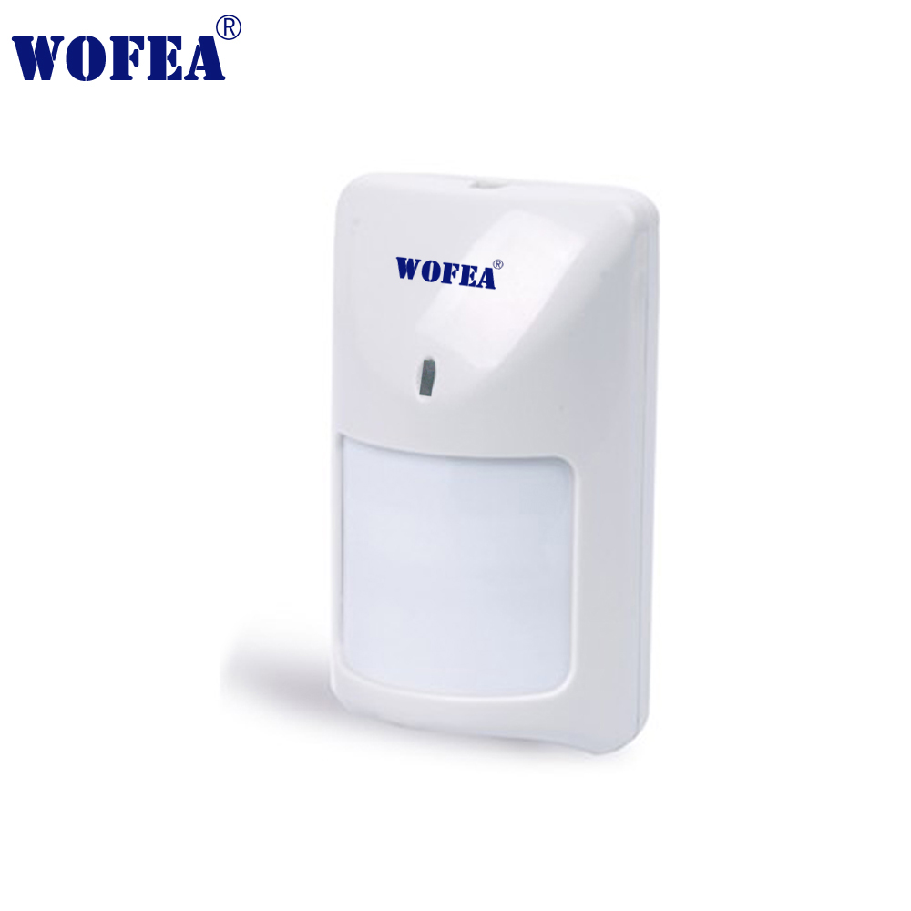 Wofea Motion Detector Wired Type PIR Sensor Infrared Detector Switch With NO NC Output 12V