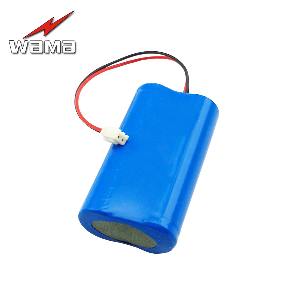 1x Wama 4000mAh <font><b>18650</b></font> 3.7V Lithium Rechargeable <font><b>2S</b></font> Power Bank <font><b>Battery</b></font> <font><b>Packs</b></font> for Fishing Lamp Flashlight Torch DIY Replace image