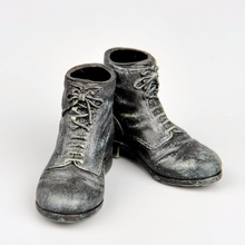 1/6 Scale Custom Black Short Boot  Fashion Male Shoes For 12″ Action Figure Body Model Accessory Toys