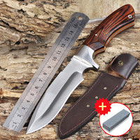 Voltron high hardness sharp knife hand tool with outdoor wilderness survival knife knife self defense