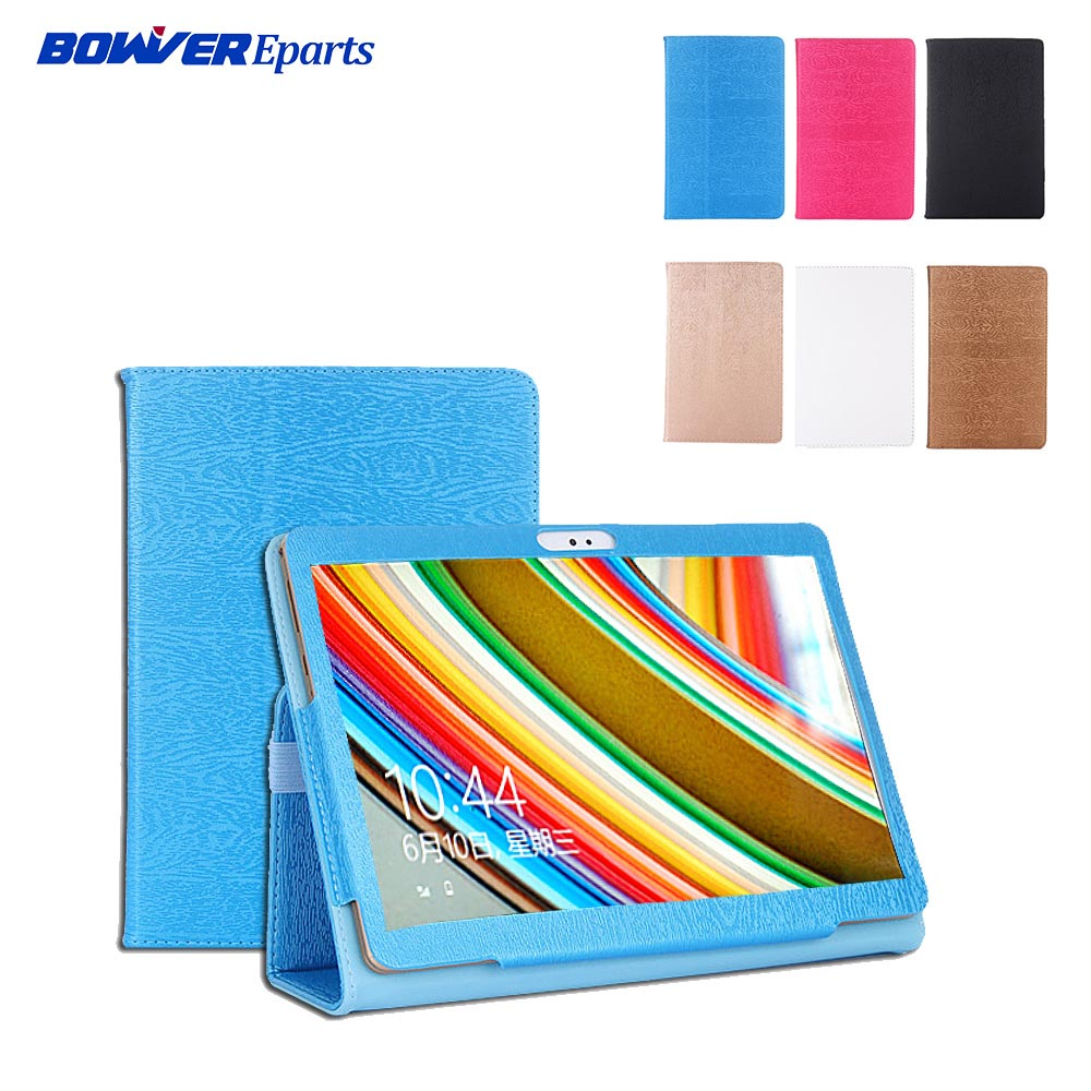 PU Leather Cover for 10.1 inch BDF BMXC K107 S107 K108 T900 MTK8752 MTK6592 <font><b>MTK6580</b></font> <font><b>Octa</b></font> <font><b>Core</b></font> 10.1 inch Tablet Case image