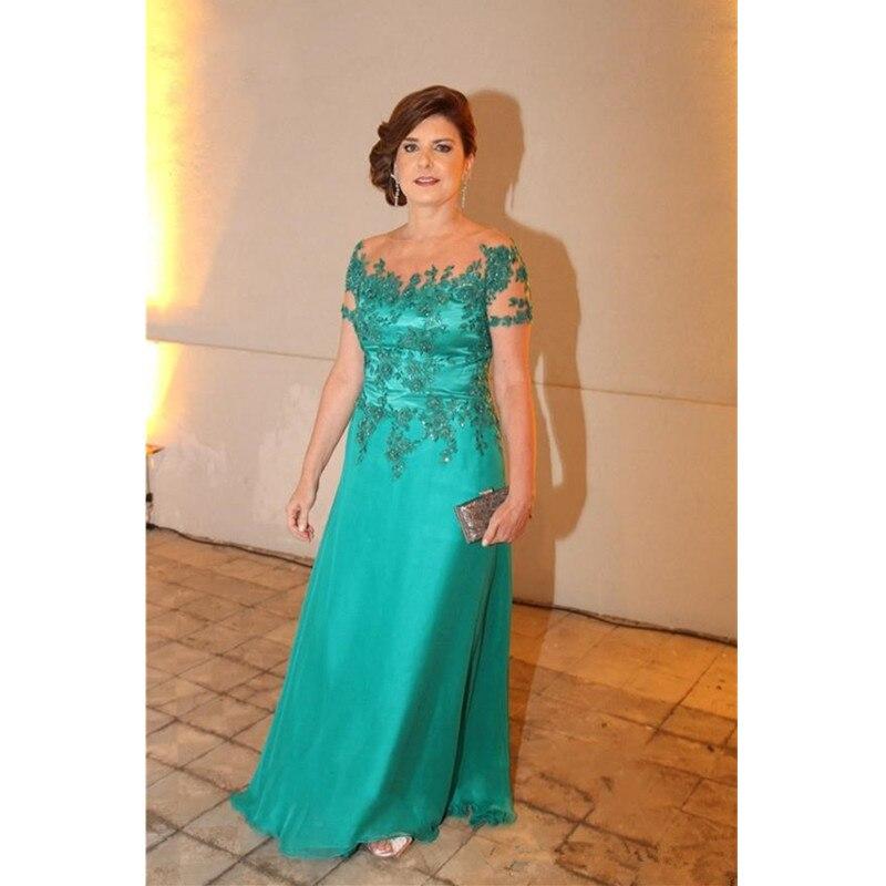 2016 Elegant Mother Of The Bride Dresses Cap Sleeves A