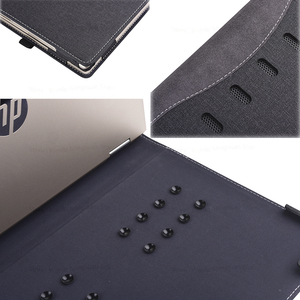 """Image 5 - New Design Case For Hp 2019 Pavilion 14"""" Laptop Sleeve Case For Hp Pavilion X360 Convertible 14 Inch PU Leather Protective Cover"""