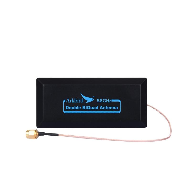 Arkbird 1.2G/1.3G tablette croisée 5.8GHz double double broche FPV antenne transmission d'image gamme étendue AAT pour aile fixe RC mod