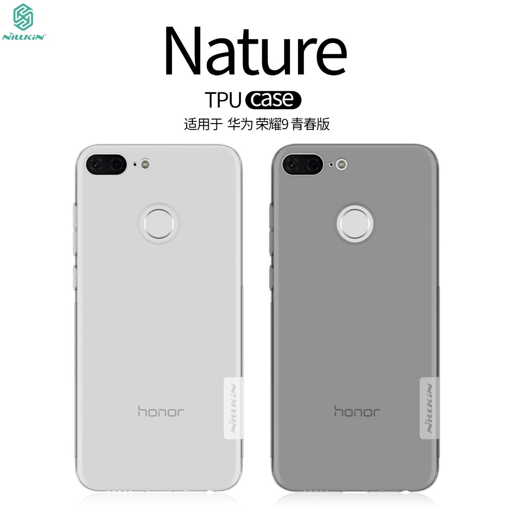 <font><b>Nillkin</b></font> For Huawei <font><b>honor</b></font> <font><b>9</b></font> <font><b>Lite</b></font> phone cases Transparent Clear Soft silicon TPU Protector case cover for honor9 <font><b>Lite</b></font> cover case image