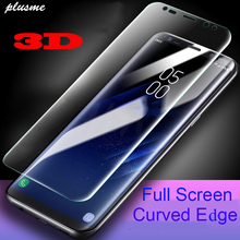 3D Curved Soft Screen Protector For Samsung Galaxy S9 S8 Plus S7 Edge Super  Slim Protective Film Note 8 (Not Glass)