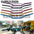 "New 7/8 ""inch barra do punho da motocicleta guiador para honda cb400 vtec vtr xjr motocross off road motorcycle handle bar aperto 22mm"