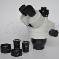 FYSCOPE CHEGAM NOVAS 3.5X-90X Simul-Focal Zoom Trinocular Cabeça de Microscópio Estéreo + 0.35 C-MOUNT