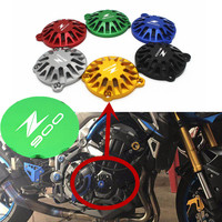 Fast Shipping Motorcycle Accessories Engine Guard CNC Aluminum Engine Slider Protector for Kawasaki Z900 Z 900 2017 2018 2019