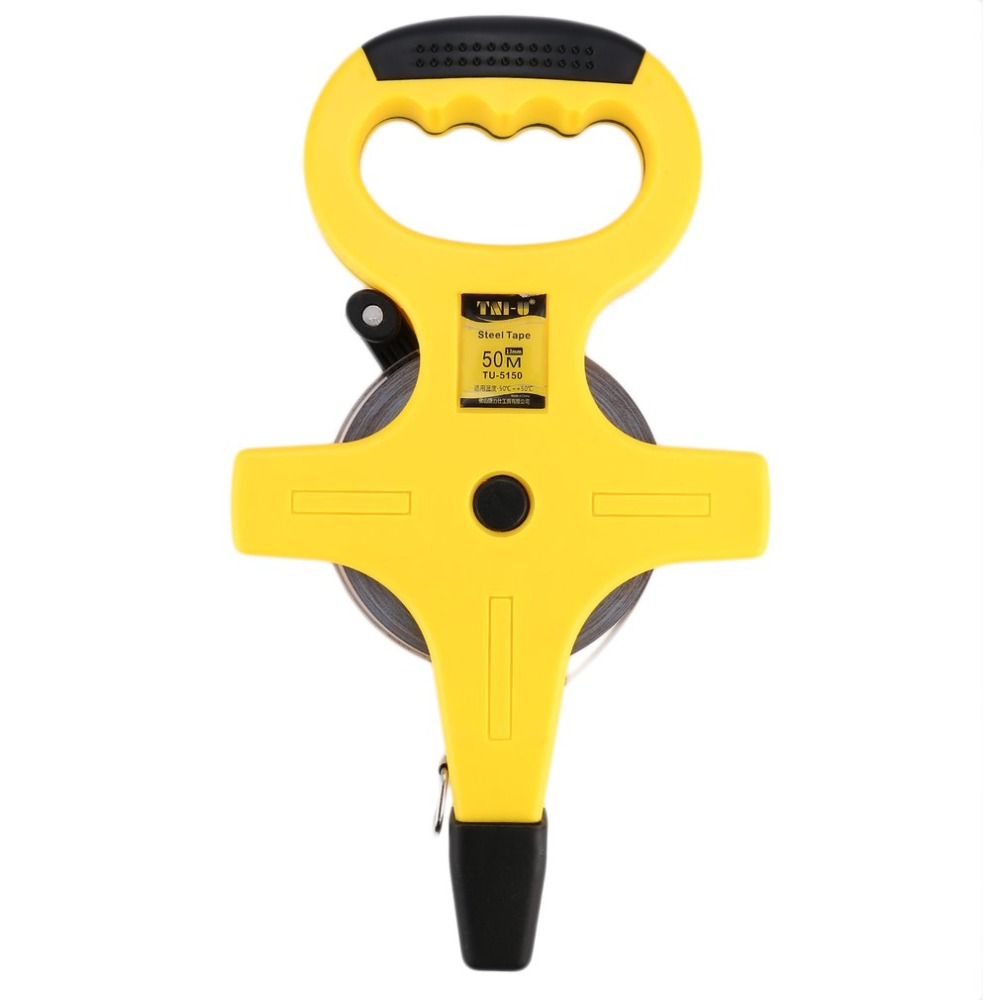 Glass Fibre Measuring Tape Hand held Type Retractable Flexible Ruler Measuring Tools Stadiometer Home Factory Office