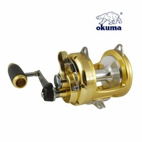 Okuma tg mdash TG 20II titus gold series drum wheel fishing round deep sea fishing reel boat