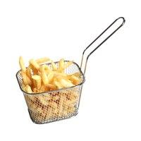 Panier à passoire en acier inoxydable | Mini panier à frire, passoire, friteuse, cuisine, panier de Chef, outil de passoire, panier de frites 3