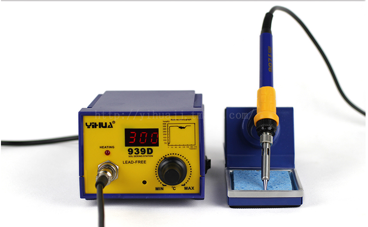 YIHUA 939D Constant temperature Antistatic Soldering Station Solder Iron 70W 220V hot selling yihua 926 adjustable temperature electronic soldering iron station
