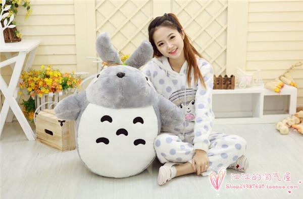stuffed toy large 75cm cute totoro plush toy soft throw pillow ,Christmas gift h736 super cute plush toy dog doll as a christmas gift for children s home decoration 20