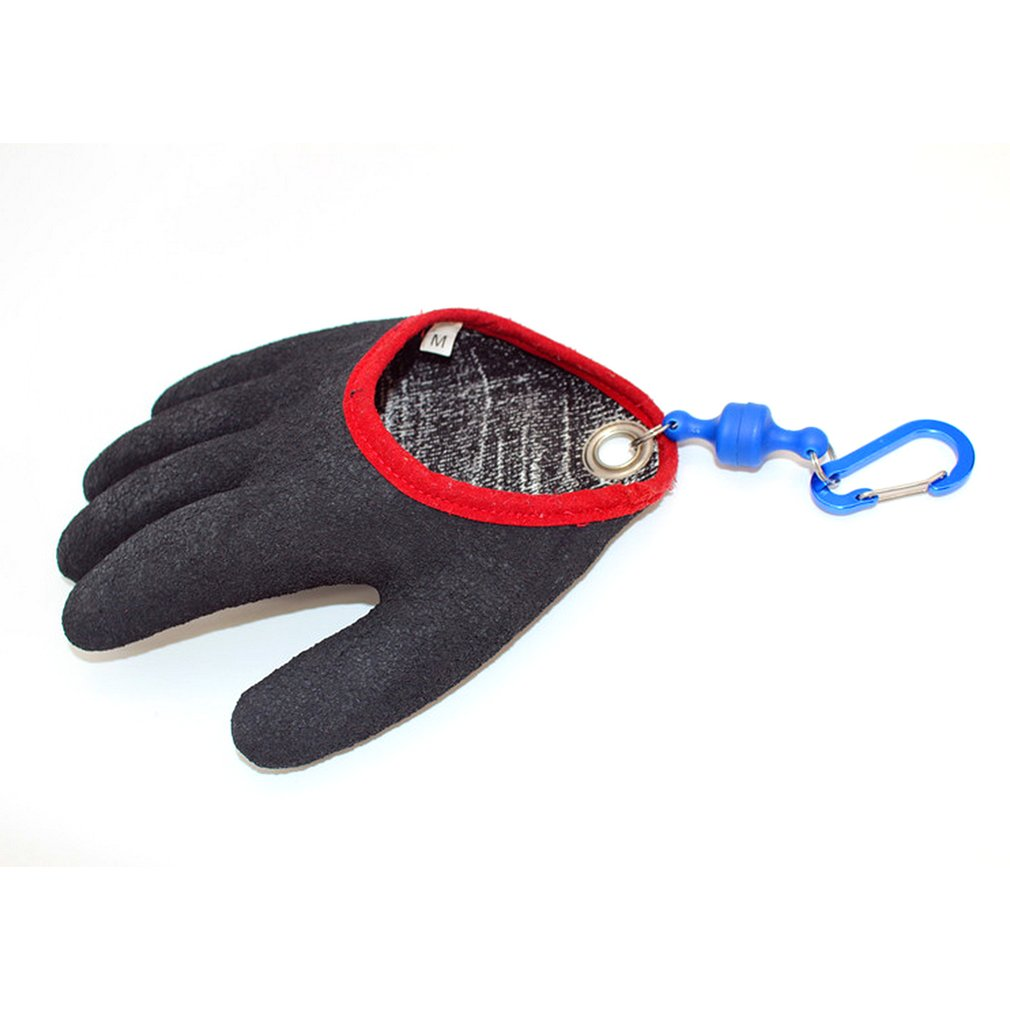 Fishing Glove For Handing Fish Safety with Magnet Release Catch Fish Gloves Cut & Puncture Resistant with Magnetic HooksFishing Glove For Handing Fish Safety with Magnet Release Catch Fish Gloves Cut & Puncture Resistant with Magnetic Hooks