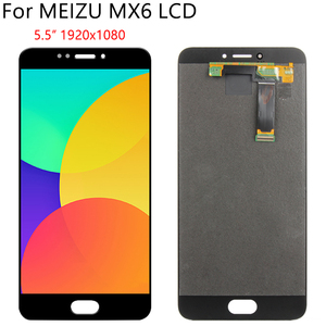 """Image 5 - 5,5 """"Оригинальный ЖК + рамка для MEIZU MX6 ЖК дисплей кодирующий преобразователь сенсорного экрана в сборе запасная часть 100% Протестировано без битых пикселей"""