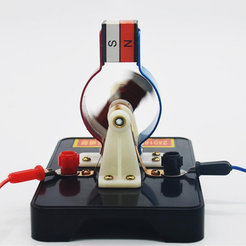 DIY простая модель электродвигателя постоянного тока сборный набор для детей физика научные развивающие игрушки