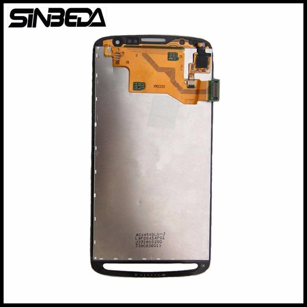 Sinbeda HD Super AMOLED Gris ou Blanc Pour Samsung Galaxy S4 Active i9295 i537 LCD Affichage et écran Tactile avec digitizer l'assemblée
