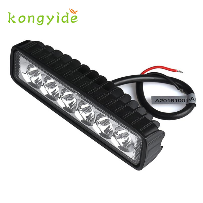 2017 NEW 18W LED Light Work Bar Lamp Driving Fog Offroad 4WD Car Boat Truck Luz Ligero quality CAR-styling oct14