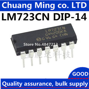 Voltage-Regulator DIP 10pcs/Lots LM723CN IC Adj. In-Stock 2-37V 150ma New Original