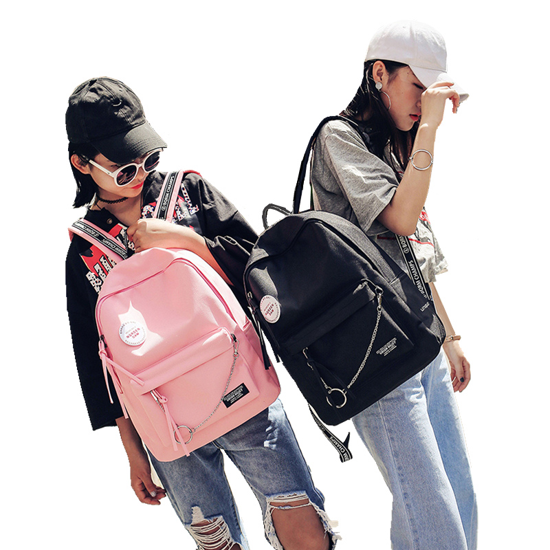2018 New Fashion Backpack Schoolbag Preppy Style For Teenage Shoulder School Rucksacks For Girls Teenager Women Cool Travel Bag