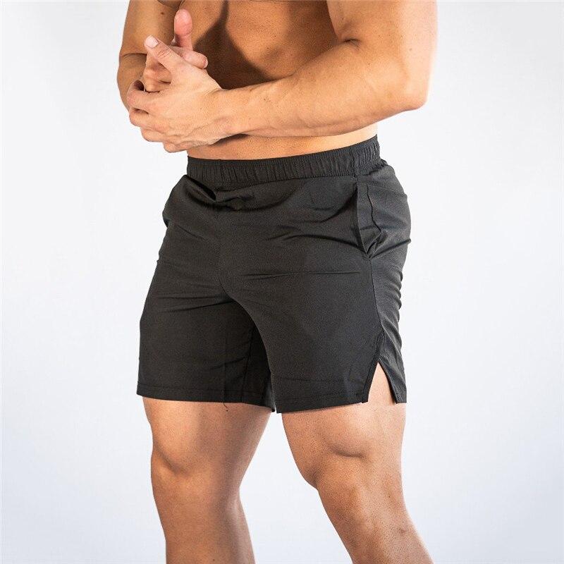Mens Gyms Fitness Brand Shorts Man Bodybuilding Running Jogging Workout Training Shorts Male 2019 Summer Cool Short Sweatpants