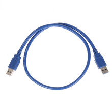 USB 3.0 PCI-E Express 1x to 16x Extender Riser Card Adapter USB Charging Cable 55cm usb3.0 cord for mining bits(China)