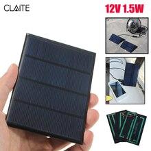 12V 1.5W Epoxy Solar Panel Charger Mini Polycrystalline Solar Cells DIY Battery Power Charge Solar Module System 115x85mm