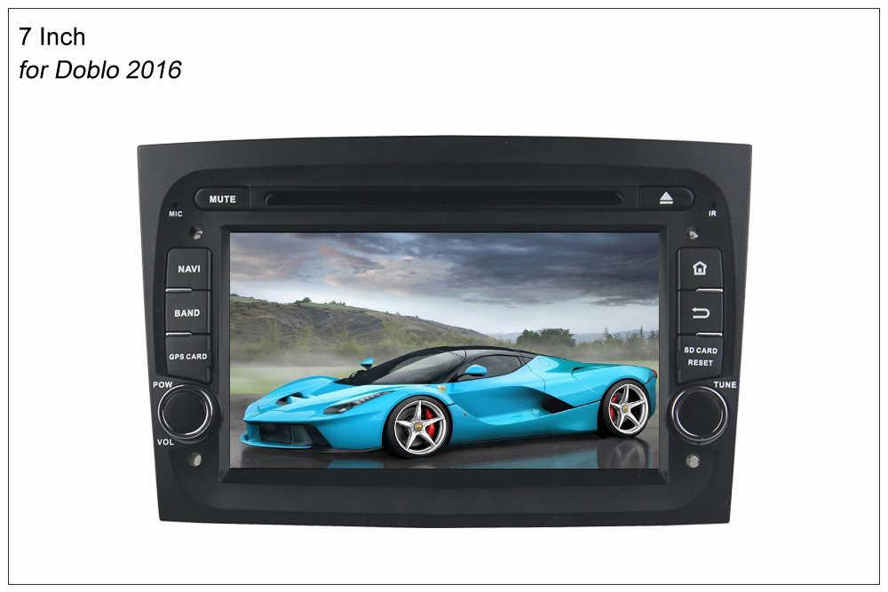 Sinosmart 4/8 Core 2G/4G Ram Android 8.1/8.0 Mobil Radio DVD Gps Navigasi Pemain untuk fiat Doblo 2010 2011 2012-2016 dengan CANBUS