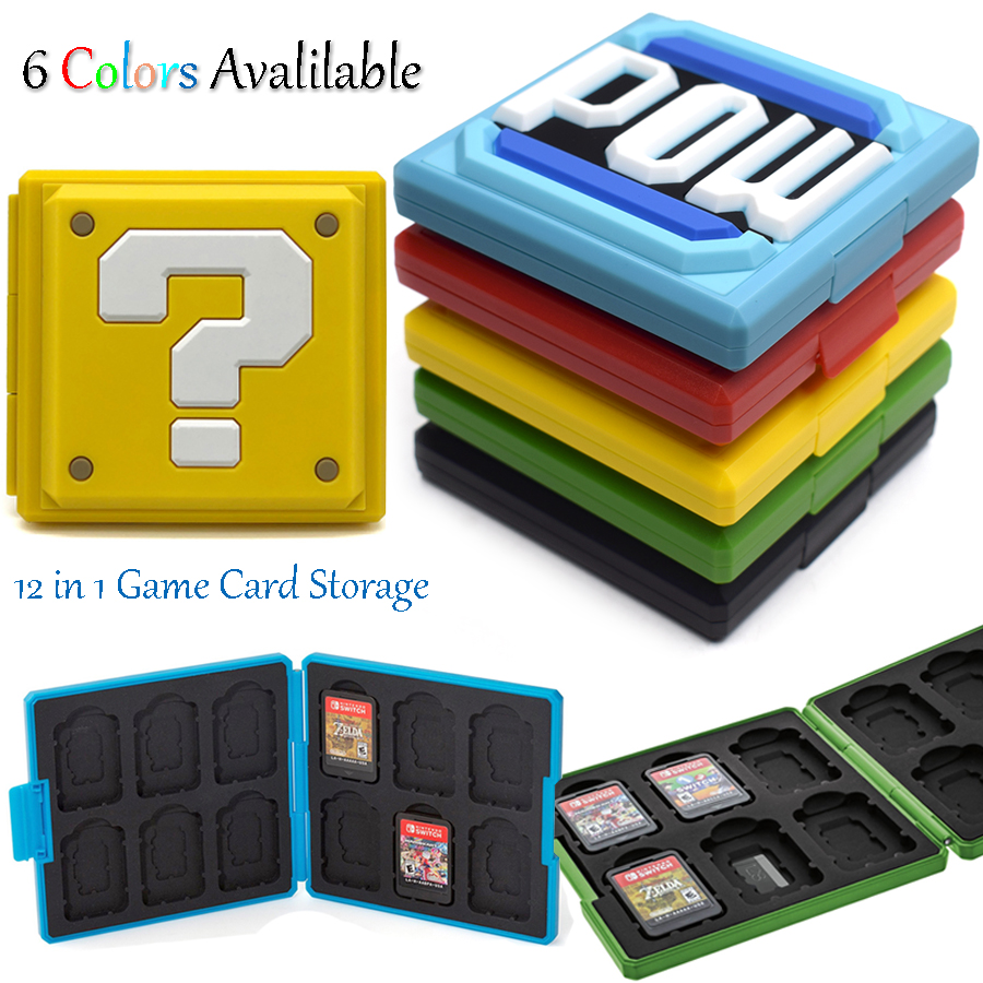 Nintend Switch NS Game Cards Storage Case Box Protective Cover for Nintendo Switch Gaming Accessories