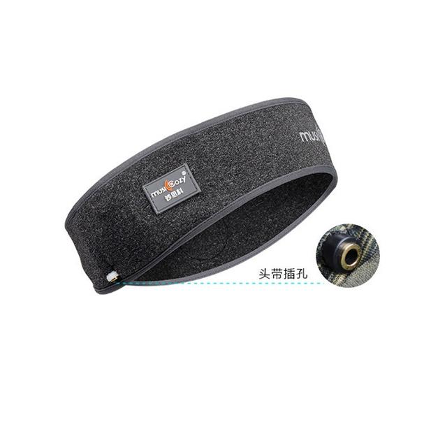 Wireless Bluetooth Cap Headphone Sleep Headband Hat Soft Sports Smart Cap Earphone Stereo S M L Size Scarf Headset with Mic