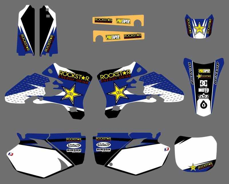 New Style Star Graphics Decals Stickers Kits For Yamaha