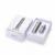 MAHAQI iJust Kit S 3000 mah Batería 4 ml Atomizador Cigarrillo Electrónico Kit IJust iJust S S Kit Completo Negro y Plata