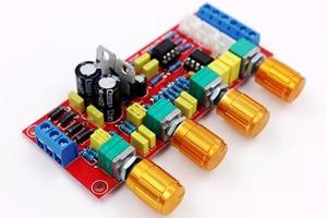 Image 4 - NE5532 OP AMP HIFI Amplificatore Preamplificatore Scheda di Controllo di Tono del Volume EQ kit FAI DA TE o prodotto finito guscio Trasparente