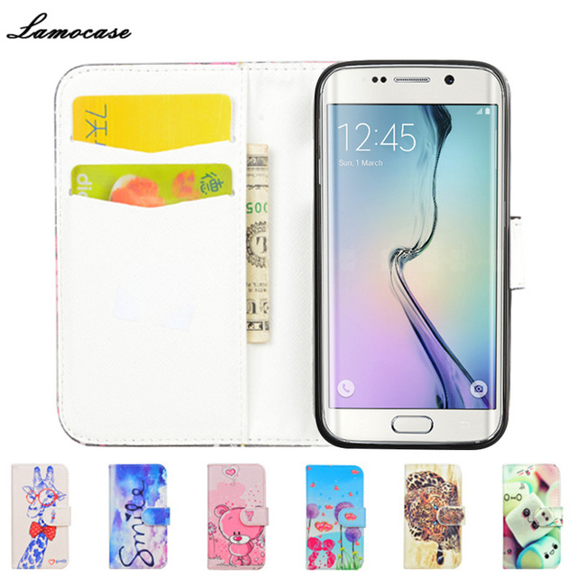 S7 Edge Case Filp Cover For Samsung Galaxy S7 edge SM-G935A SM-G935F SM-G9350 Wallet Leather Cover Phone Bags&Cases