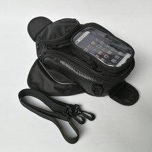 Wholesale Motorcycle TANK OIL FUEL Magnet BAG Motorbiker Oxford Waterproof GPS Saddle bags TANK BAG Luggage BIG View Area BLACK