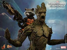 1/6 scale figure doll Guardians of the Galaxy Rocket and Groot Collectible action figures doll  Plastic Model Toys
