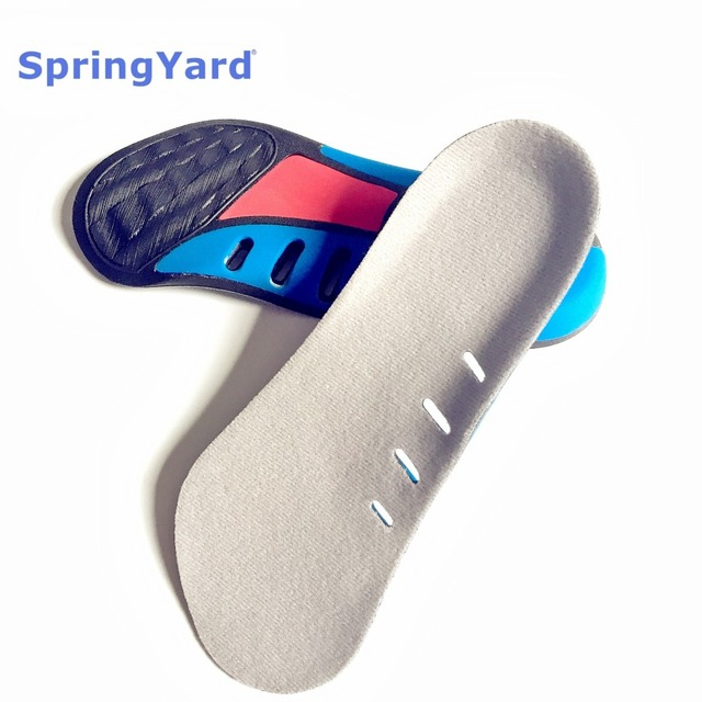 fromUfoot Nylon+PU Form 3/4 Length Stable Heel Arch Support Shock Absorption Cushion Orthopedic Insoles for Shoes Woman Men