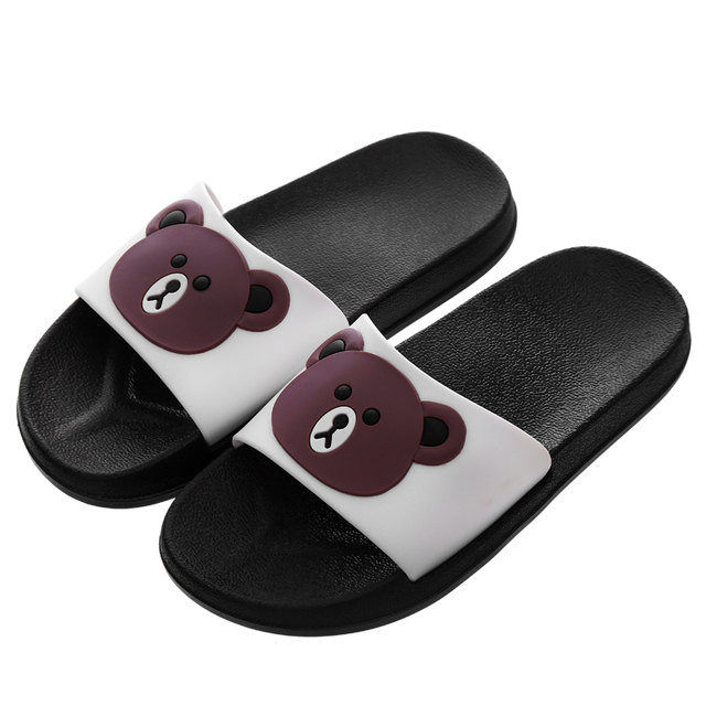 Children S Slippers Kids Boys Girls Summer Home Shoes Indoor Slipper Baby  Cute Cartoon Soft-Bottomed Home Slippers Beach Shoes 9dba299408b4
