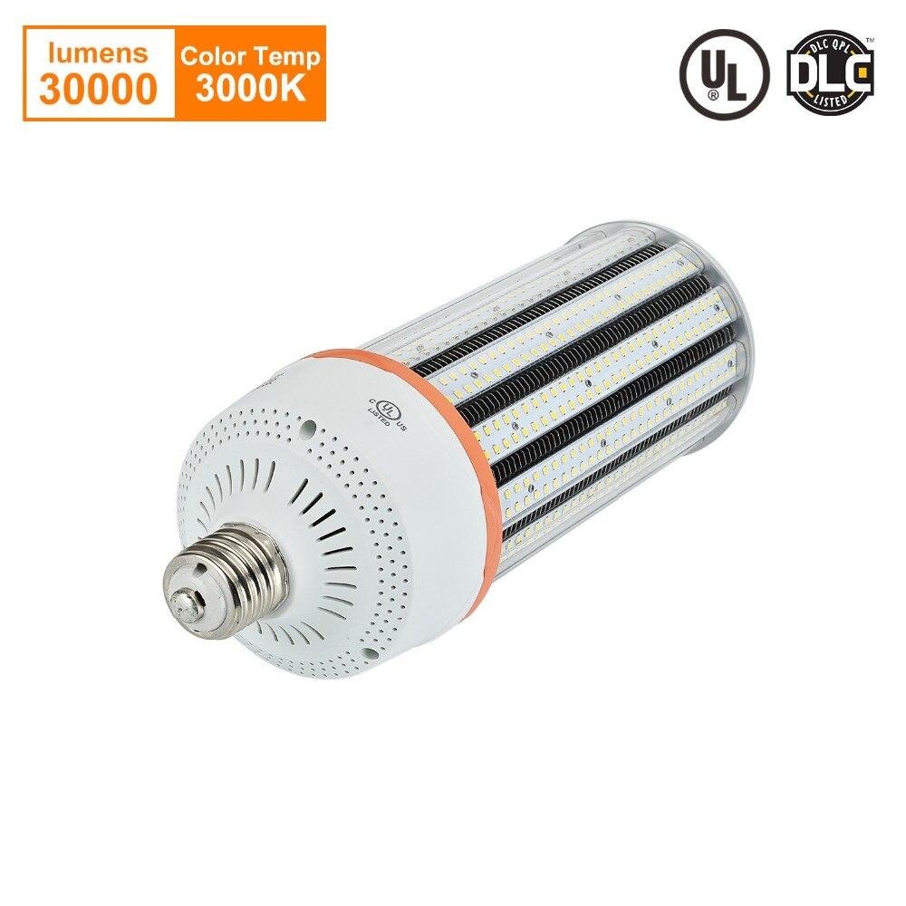 НС 200 Вт светодио дный Кукуруза лампа 800 Вт эквивалент E39 E40 Ретро лампа Street работа лампочки высокой Bay уличное коммерческое освещение