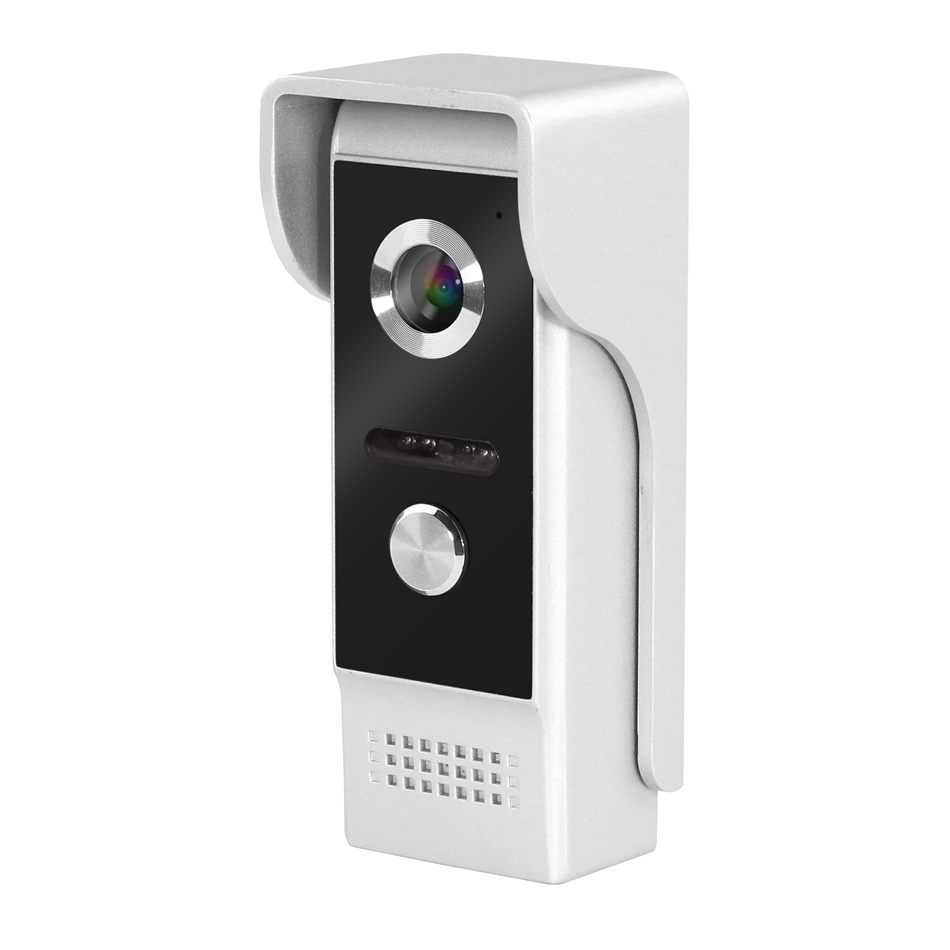 Homefong Call Phone Wired Video Doorbell Camera For Video Intercom Infrared Night Vision WaterProof 1000TVL 4 Pin Wire Interface