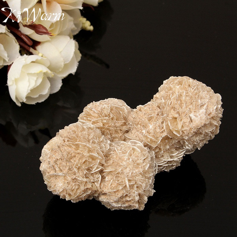 Kiwarm New 100g Natural Desert Rose Selenite Crystal Stone Flower
