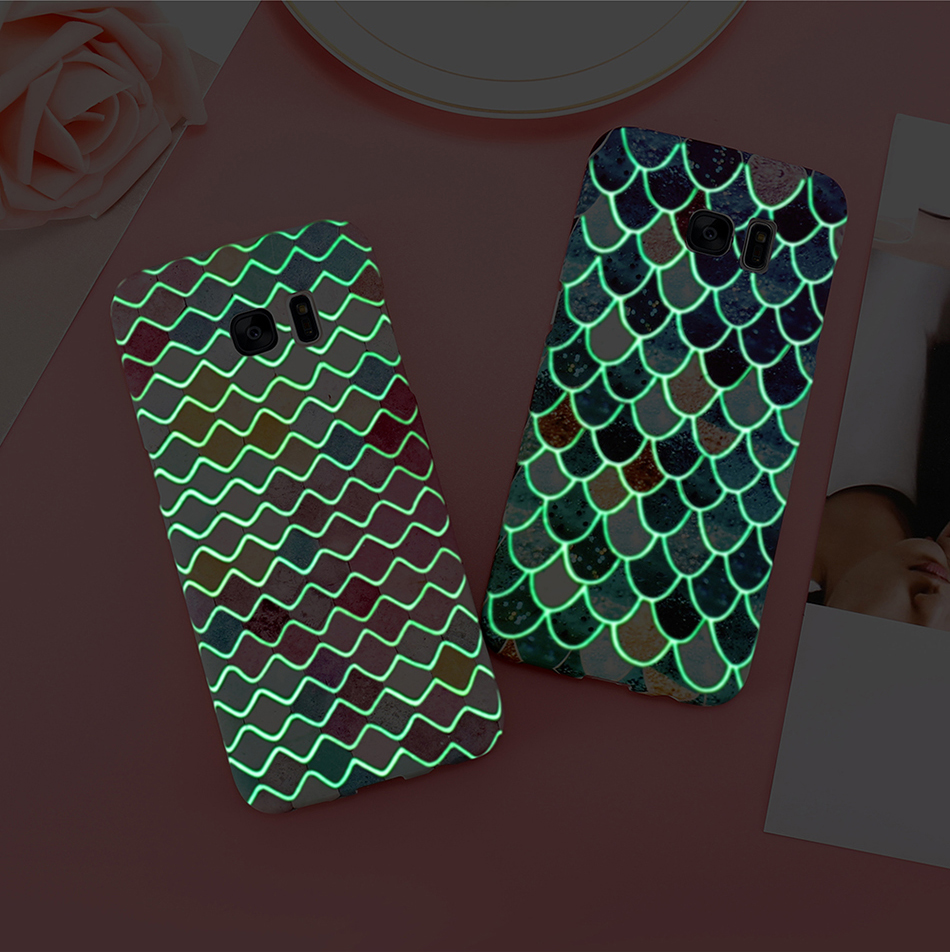 3D Scales Colorful Case For Phone 6 5 6S 7 Plus  (9)