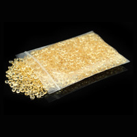 10000pcs 4 5mm Light Gold Champagne WEDDING TABLE SCATTER CRYSTALS DIAMOND DECORATION