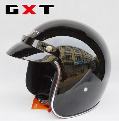 Free shipping! Fashion individuality GXT four seasons helmets,3/4 retro vintage capacete,open face motorcycle helmet Half helmet рация gxt 500