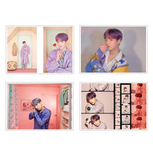 Kpop Bangtan Boys MAP OF THE SOUL PERSONA Photo Poster Back Adhesive Can Be Pasted 4Pcs/Set Wall Decorate 21*30CM(China)