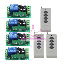 Remote control light switch outdoor promotion shop for promotional dc 12v 10a 1ch wireless remote control switch 4 channel outdoor lighting control aloadofball Choice Image