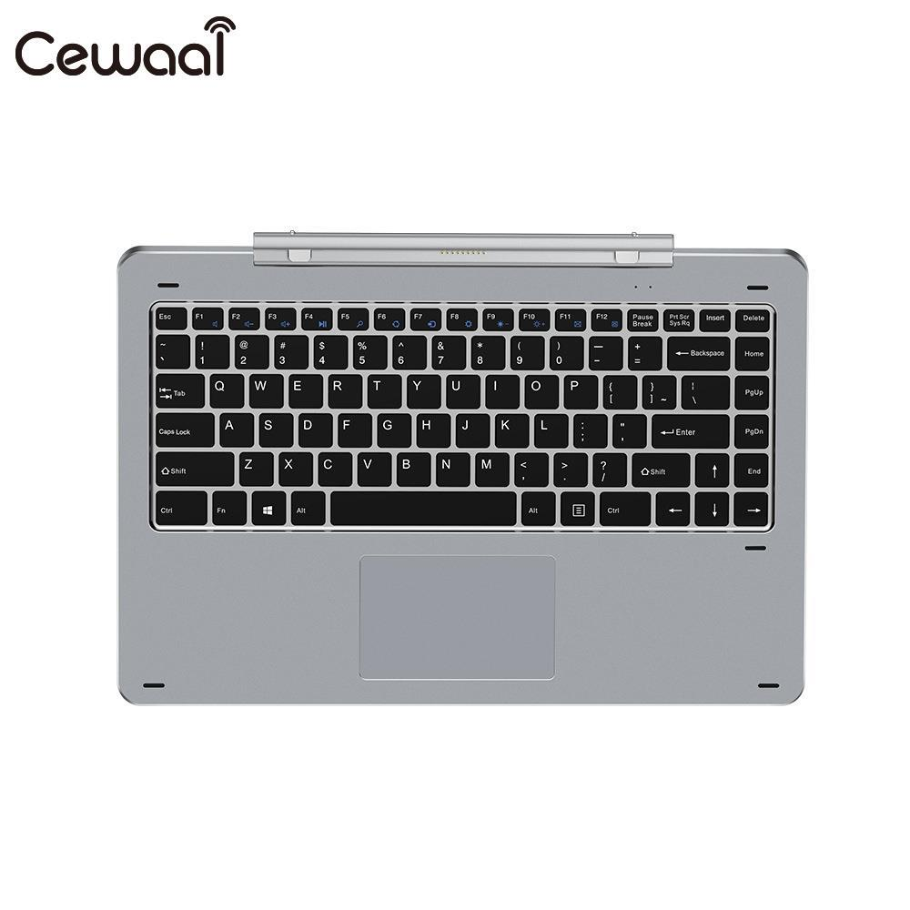 Cewaal Rotary Shaft Keyboard Metal Keyboard Separable Keyboard Removable POGO Pin Connection for Chuwi Hi13 цена и фото