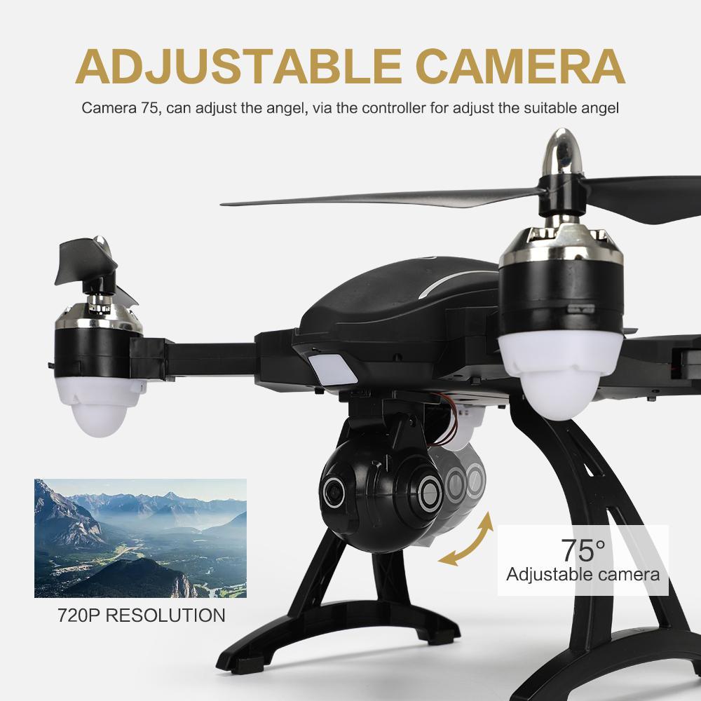 LeadingStar X34 RC Quadcopter Drone GPS 720 p WIFI HD Caméra Fixe Hauteur Pliage Télécommande Avions Jouets Cadeau zk49